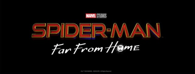 spider man far from home logo