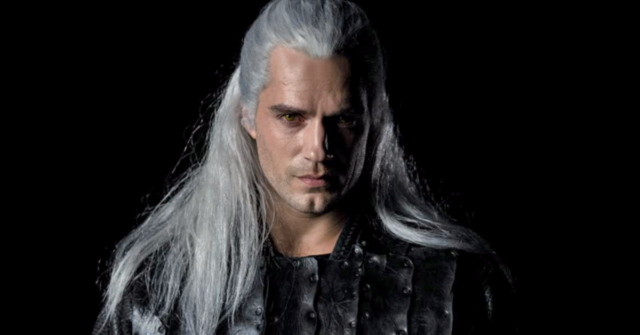 henry cavill the witcher first look