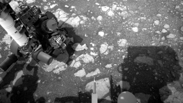 mars curiosity rover operational