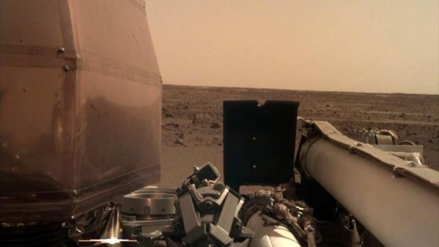 nasa insight lander mars landscape