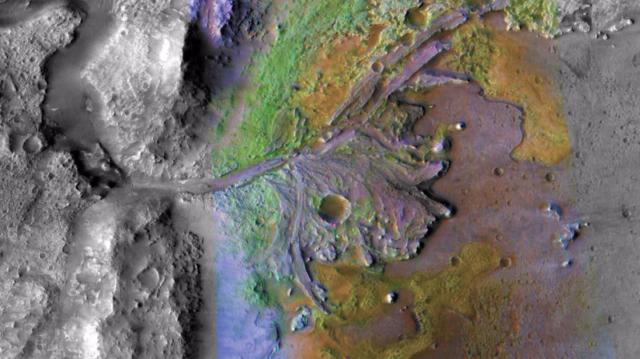 nasa mars rover jezero crater