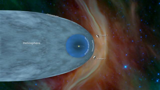 voyager 2 interstellar space