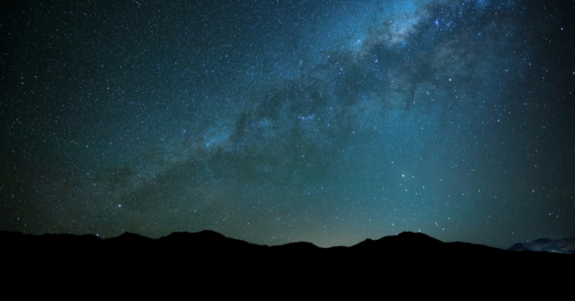 astronomers radio signals outside milky way