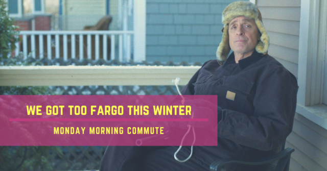 monday morning commute too fargo this winter