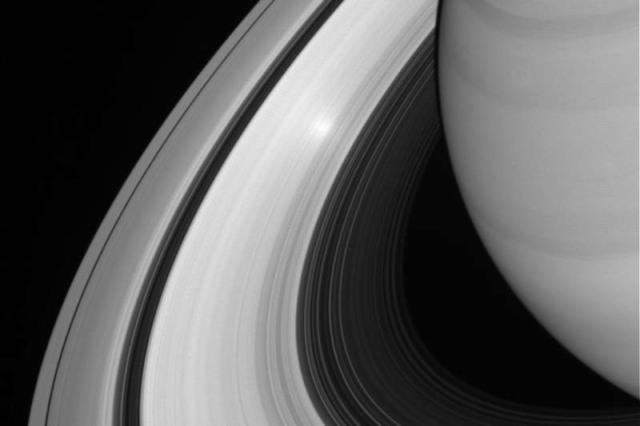 saturn rings 100 million years ago
