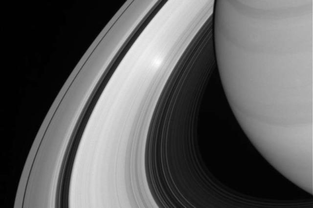 saturn rings 100 million years ago