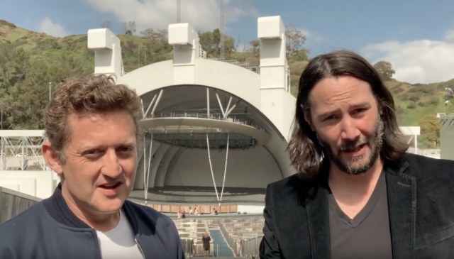 bill and ted 3 filming 2020