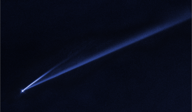 hubble asteroid coming apart
