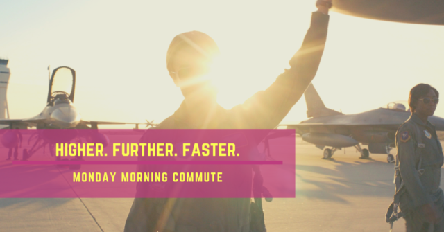 monday morning commute higher further faster