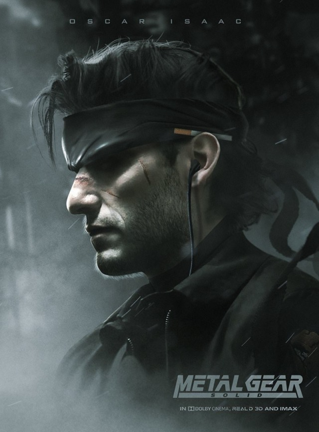 oscar isaac metal gear solid movie