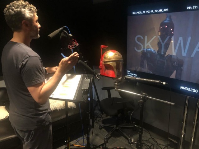taika waititi ig88 the mandalorian
