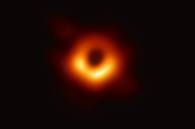 first image black hole
