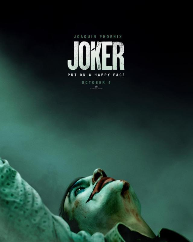 joaquin phoenix joker poster trailer