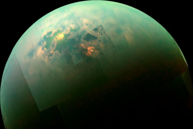 saturn titan lake cycle