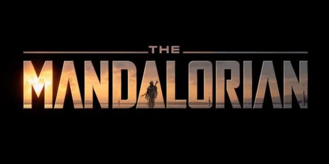 the mandalorian title logo
