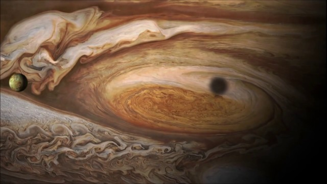 jupiter great red spot unraveling