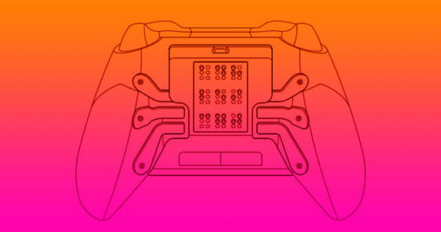 microsoft xbox braille controller