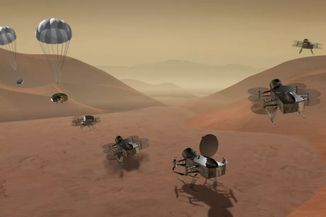nasa saturn moon titan