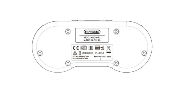 nintendo snes switch controller