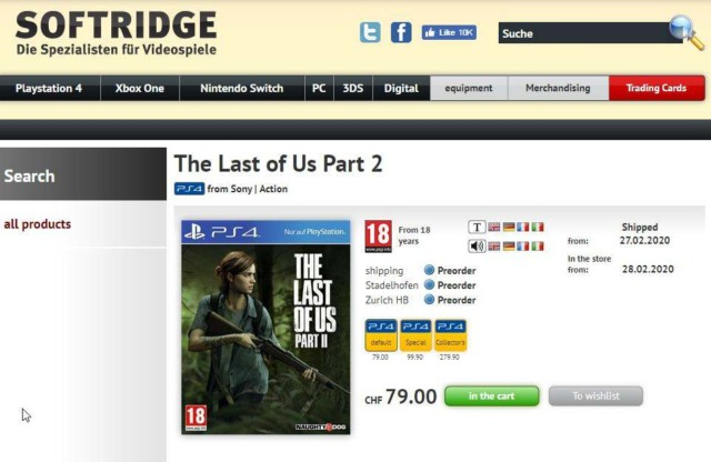 the last of us 2 release date leak