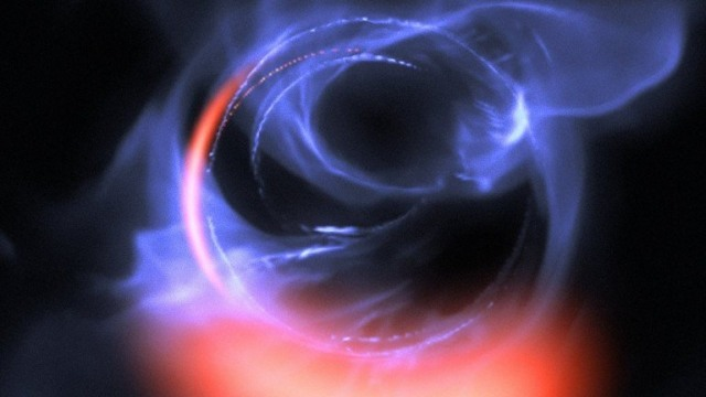 astronomers black hole manhattan