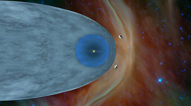 voyager 2 interstellar space data