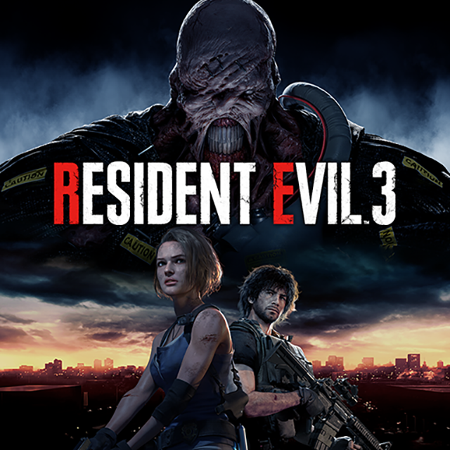 resident evil 3 remake artwork playstation network 1