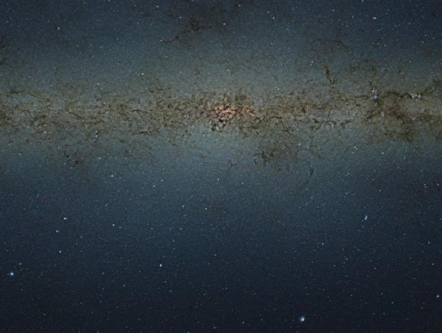 milky way galaxy 84 million stars