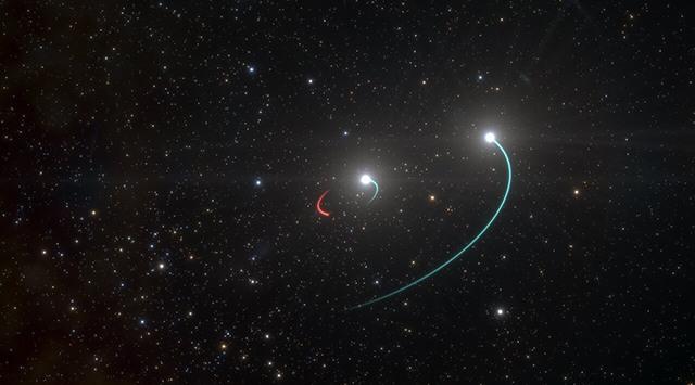 astronomers nearest black hole