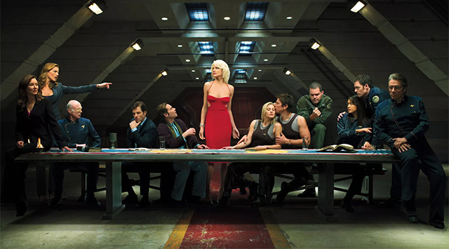 new battlestar galactica showrunner michael lesslie