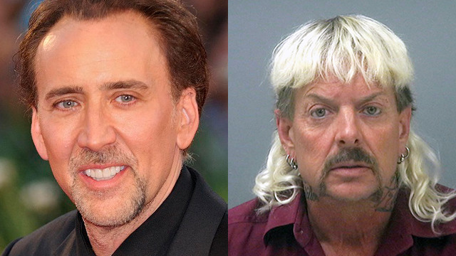 nicolas cage joe exotic scripted series