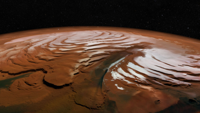 ancient mars ice sheets rivers