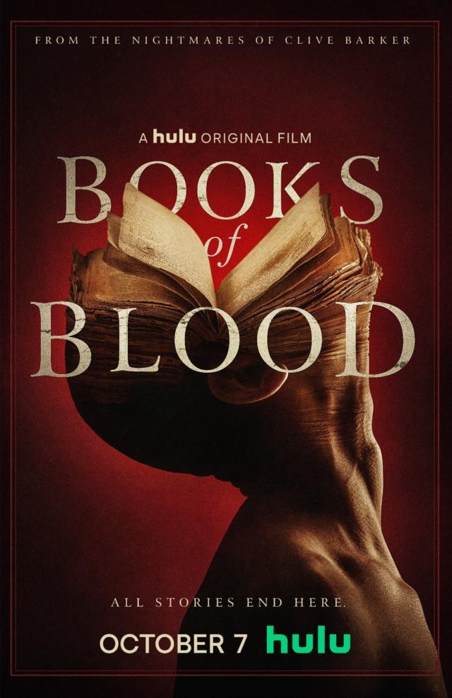 clive barker books of blood hulu movie