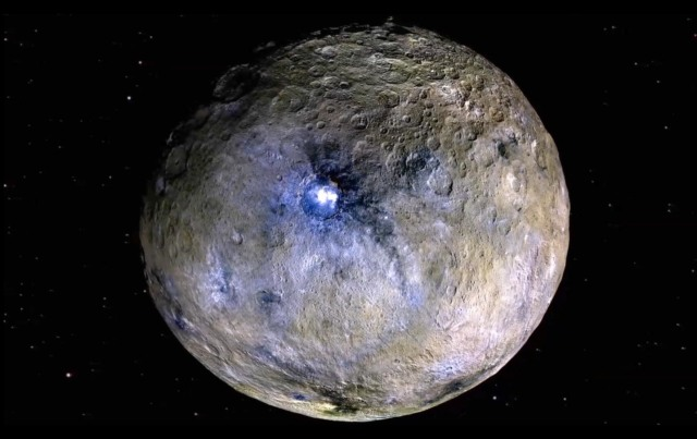 dwarf planet ceres saltwater ocean