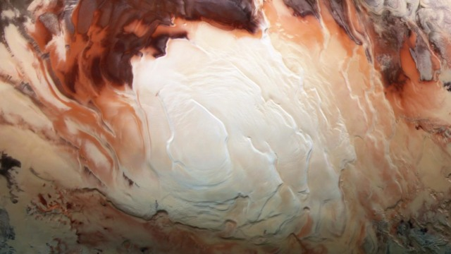astronomers mars liquid bodies of water