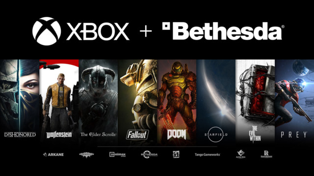microsoft buying bethesda