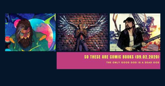 so these are comic books - september 2