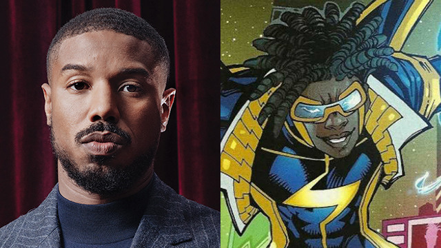 michael b jordan produce movie static shock