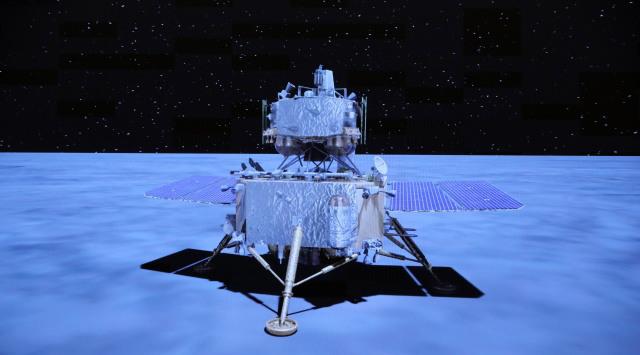 china moon probe returns to earth