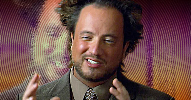 ancient aliens movie coming from cobra kai showrunner