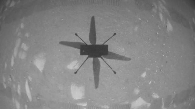 nasa ingenuity helicopter flown on mars