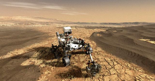 nasa mars rover selfie