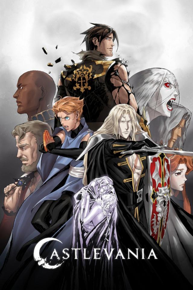 netflix castlevania season 4 artwork