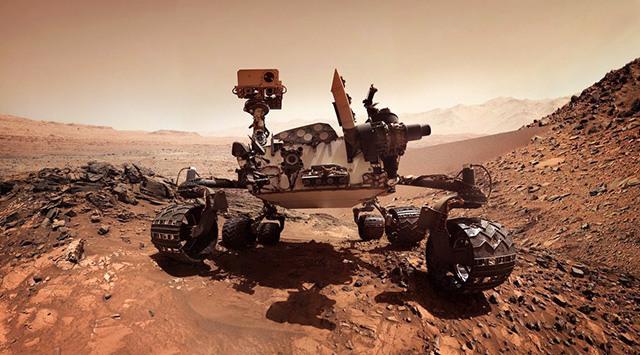 nasa rover mars organic compounds