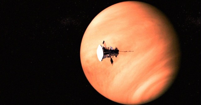 scientists radio signal venus