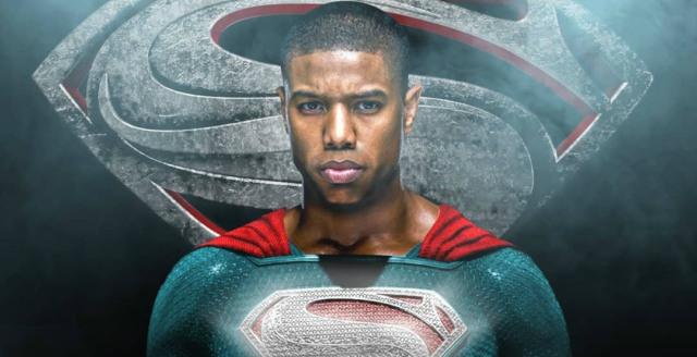 superman movie black actor lead role