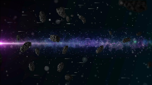 two red objects asteroid belt early solar system