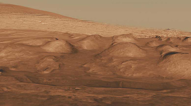 mars rover ancient pond not lake