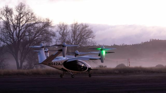 nasa test flight air taxi